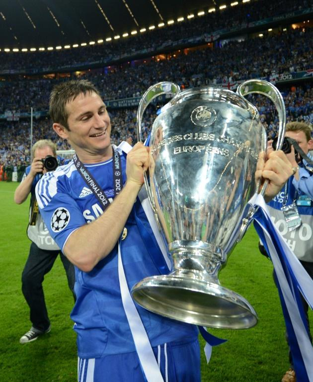 Frank Lampard was pivotal to Chelsea's slew of trophies since Roman Abramovich bought the club including the 2012 Champions League