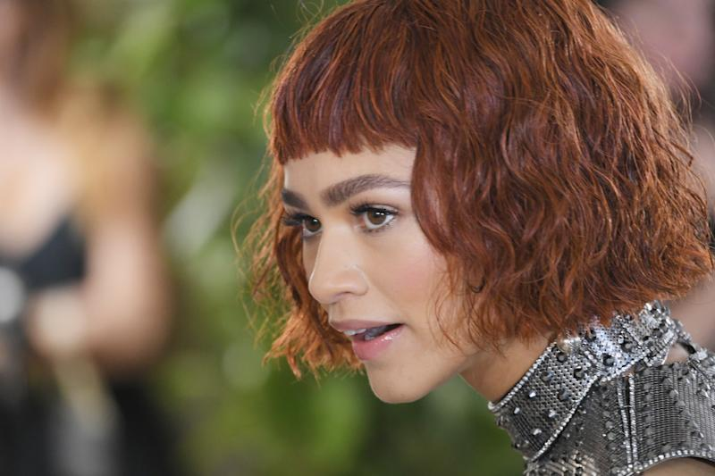 Zendaya Debuted a Red Bob at the Met Gala — and It's Not a Wig