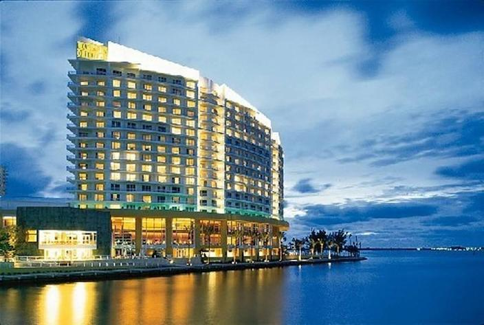 The Mandarin Oriental Hotel in Miami