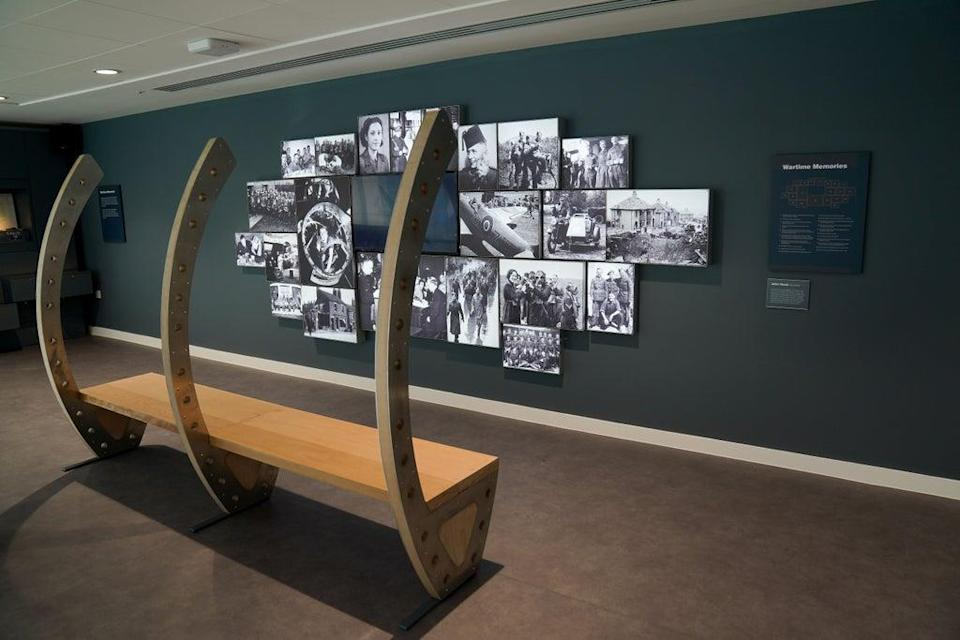 A display at the new gallery (Jacob King/PA) (PA Wire)