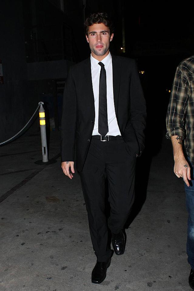 """Who knew Brody Jenner was capable of sporting anything other than hoodies and sneakers? In any case, he clearly cleans up well! Hellmuth Dominguez/<a href=""""http://www.pacificcoastnews.com/"""" target=""""new"""">PacificCoastNews.com</a> - January 28, 2009"""