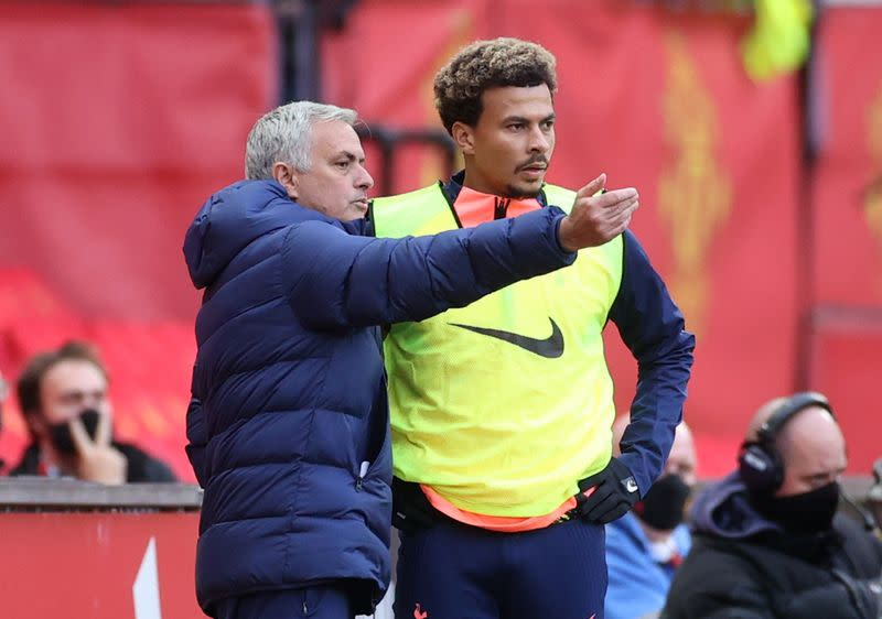 Spurs would have put 10 past United with 'attacking coach' - Mourinho