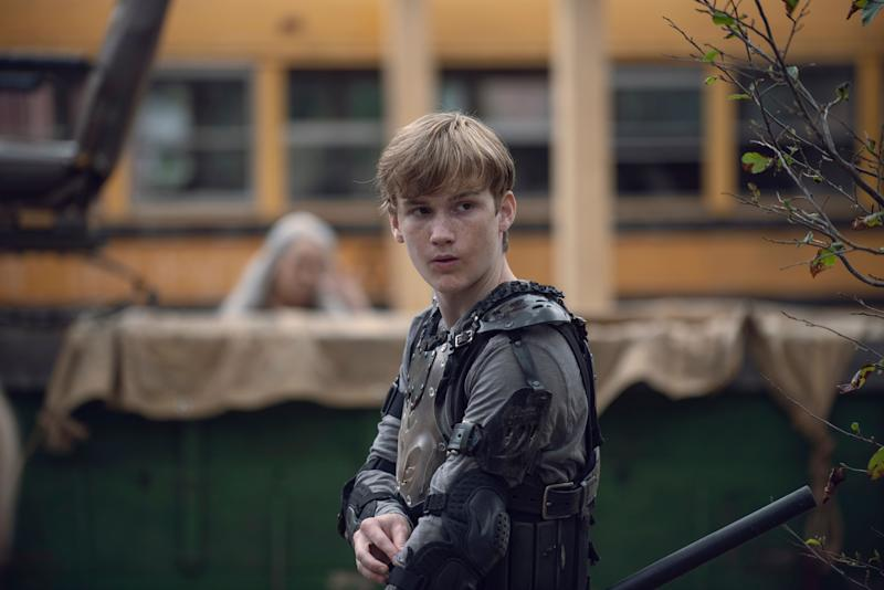 """The other victim from """"The Walking Dead"""" midseason finale. (Photo: Gene Page/AMC)"""