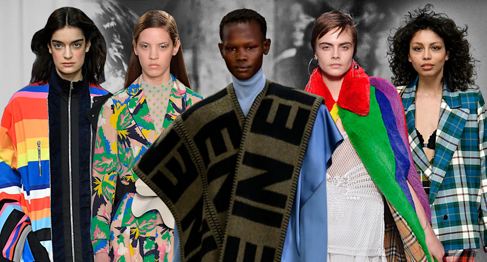 The top trends from London Fashion Week (Photo: Getty/Art: Quinn Lemmers)