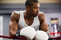 """<p>Rocky Balboa looks like a sure thing to re-enter the Oscar ring for the first time since 1977, especially in light of Sylvester Stallone's Golden Globe win. Not getting his proper due though, is Jordan as Son of Apollo. His knockout portrayal (during which <a href=""""https://www.yahoo.com/movies/sylvester-stallone-convinced-michael-b-jordan-to-173907252.html"""" data-ylk=""""slk:he was actually knocked out;outcm:mb_qualified_link;_E:mb_qualified_link;ct:story;"""" class=""""link rapid-noclick-resp yahoo-link"""">he was <i>actually</i> knocked out</a>) is a major reason why <i>Creed</i> turned out to be one of the year's most pleasant surprises.</p>"""