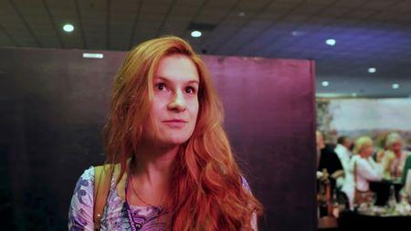 FILE PHOTO: Accused Russian agent Maria Butina speaks to camera at 2015 FreedomFest conference in Las Vegas, Nevada, U.S., July 11, 2015 in this still image taken from a social media video obtained July 19, 2018. FreedomFest/via REUTERS
