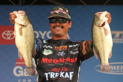 Texas pro Chris Zaldain is currently in second place leading into the Toyota Bassmaster Angler of the Year Championship.