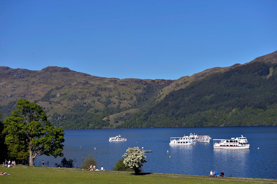 Three people died in the incident in Loch Lomond on Saturday evening (PA) (PA Archive)