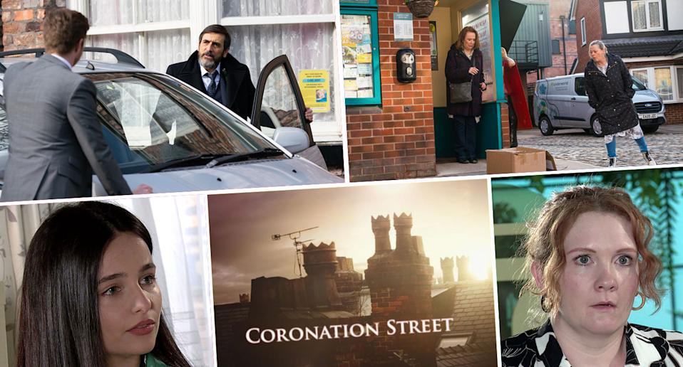 Look ahead on Coronation Street (ITV)