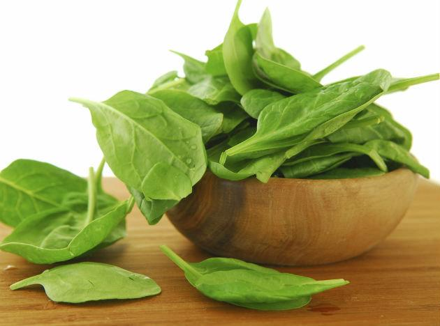 <b>Face-friendly food 5: Dark leafy greens</b><br>Spinach, kale, romaine lettuce, and swiss chard are all great examples of dark leafy greens that are fantastic for maintaining healthy skin. It's all to do with their super levels of antioxidant, vitamins A, C, E and the mineral iron - which is essential for keeping your blood healthy and your skin bright. If you are not a great lover of greens you can always add them to a smoothie or sneak watercress, rocket or baby spinach into salads and sarnies to ensure you get your fill.