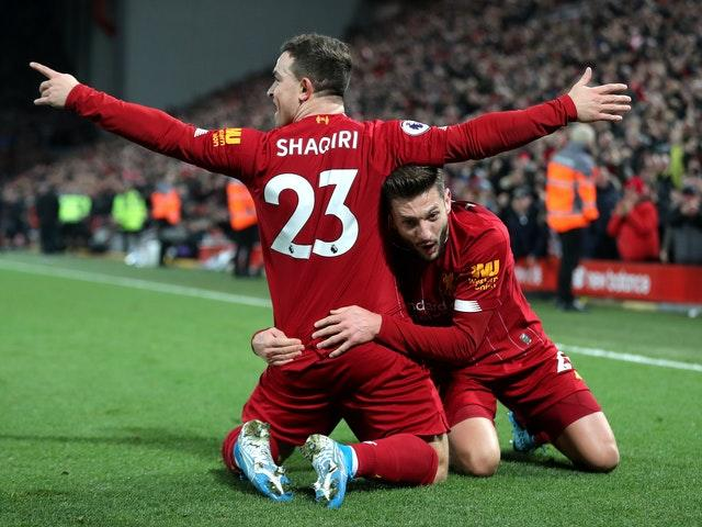 Jurgen Klopp sprung a surprise by naming Mohamed Salah, Jordan Henderson and Roberto Firmino on the bench for December's Merseyside derby as he juggled a hectic December fixture list. His reshuffle had little impact as the hosts cruised to a crushing 5-2 success over their neighbours, with Xherdan Shaqiri among the goalscorers