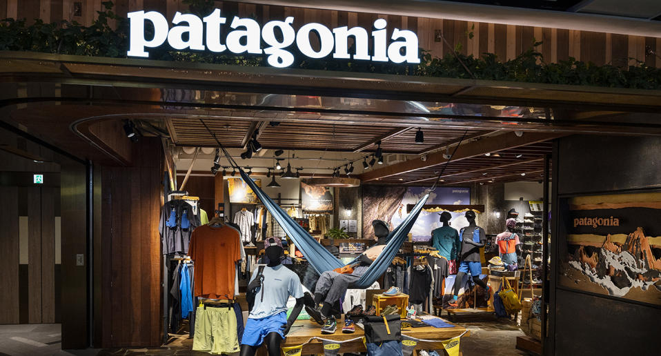 Patagonia has been forced to issue a recall on clothing items and masks. Source: AAP