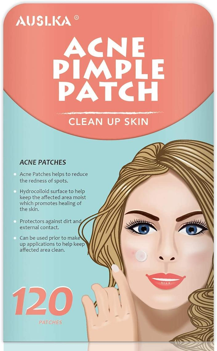 Thanks to their extra-large size, AUSLKA's Acne Pimple Patches can be used on the back, buttocks, neck, chest... Wherever you need them, really.