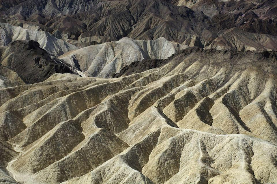 <p>The sandy dunes ripple across Death Valley National Park, California // March 29, 2016</p>