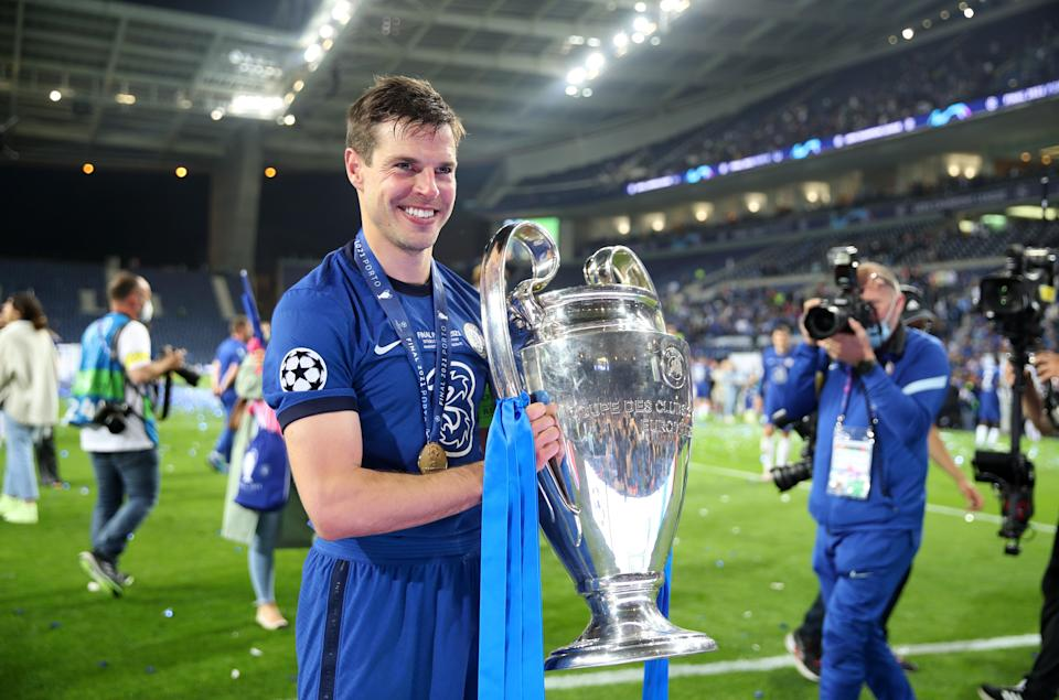 Cesar Azpilicueta captained Chelsea to European success over Manchester City in Portugal (Nick Potts/PA) (PA Wire)