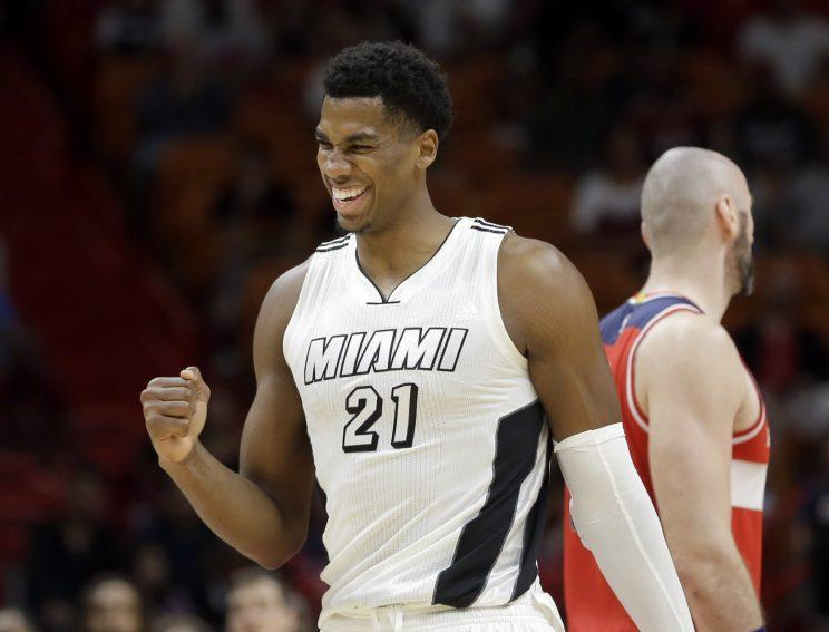 Do the Heat have a franchise player in Hassan Whiteside? (AP)