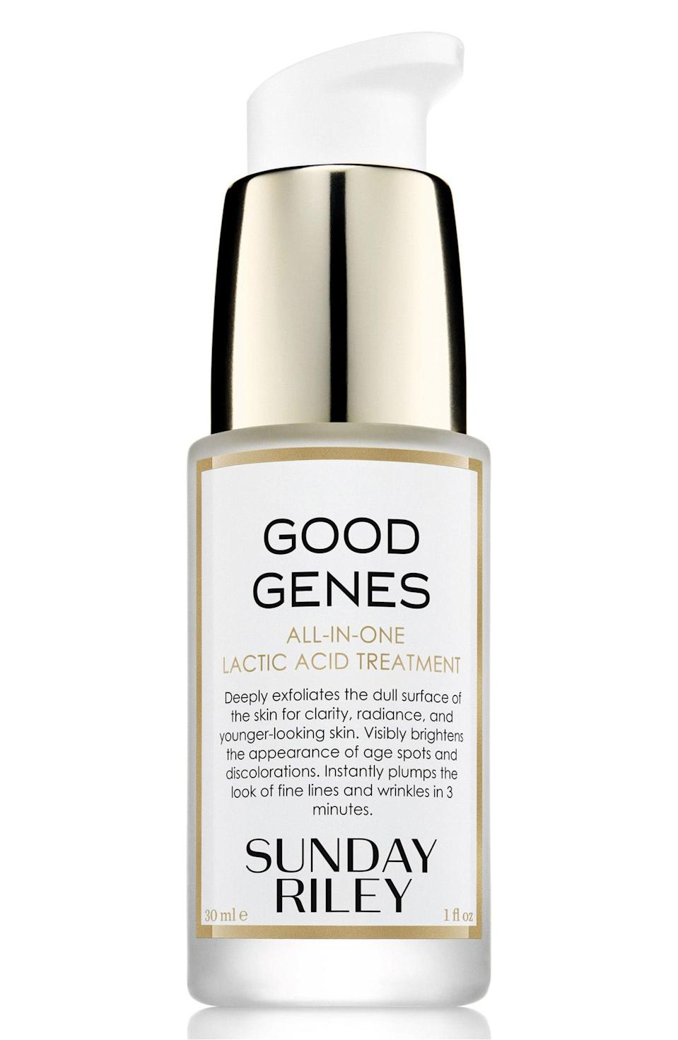 <p>It's already a cult favorite, but did you know that <span>Sunday Riley's Good Genes Treatment</span> ($105) is formulated with cactus and prickly pear extract to hydrate the skin while still treating hyperpigmentation and plumping up fine lines?</p>