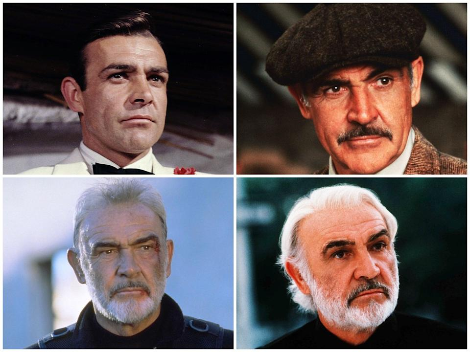 The Independent runs through Sean Connery's greatest screen roles (Rex Features)