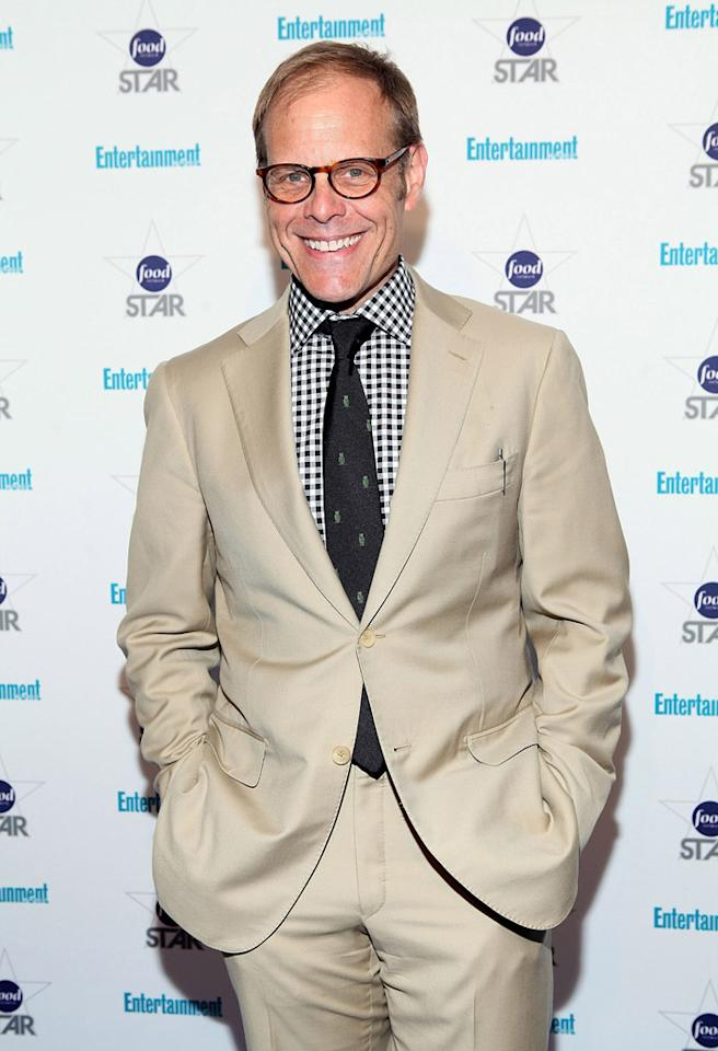 "NEW YORK, NY - MAY 08:  Alton Brown attends  Entertainment Weekly's ""A Night With The Stars Of Food Network"" Event at Crosby Street Hotel on May 8, 2012 in New York City.  (Photo by Robin Marchant/Getty Images)"