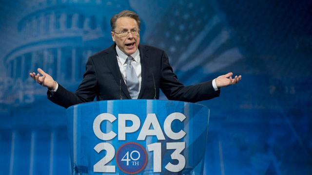 LaPierre: Have Biden, White House 'Lost Their Minds' on Guns?