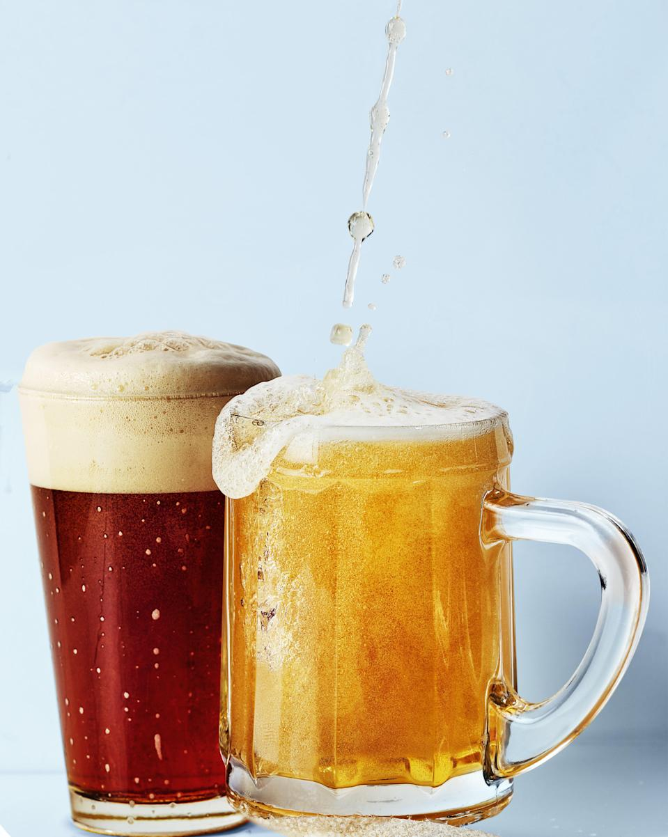 """<p>German Oktoberfest beers were the OG <a href=""""https://www.menshealth.com/trending-news/a31981674/hard-seltzer-healthy-alcohol-trend/"""" rel=""""nofollow noopener"""" target=""""_blank"""" data-ylk=""""slk:palate-shifting"""" class=""""link rapid-noclick-resp"""">palate-shifting</a> craft beers for most Americans thirsty for more than light lagers. </p><p>But then American craft breweries started cranking out IPAs and fruited sours and everyone forgot about Oktoberfest beers until—<em>oh, wait a second</em>—Oktoberfest beers are still really, really good. They're often super-crisp and refreshing. Many are belly-patting in substance, but not so much so that you're falling asleep in your backyard biergarten. And some are respectfully building off of centuries of traditional by branching out just a bit from the norm.</p><p>Especially now, with American breweries putting their own twists on German favorites. Twists like in these six stein-hoisters, which include a legit festbier from an Oregon brewer (!), a hopped farmhouse-style lager (!!), and an Oktoberfest <em>ale</em> (!!!).</p><p>So if you've already enjoyed the classics, this is your to-drink list for this year's Oktoberfest celebrations. (Or, what the heck, enjoy the classics <em>and</em> these new-school offerings.) Though COVID-19 canceled the official 2020 festivities, that doesn't mean you can pull together a toast or two on your own.</p><p>Fall is here, after all. Embrace its beer.</p>"""