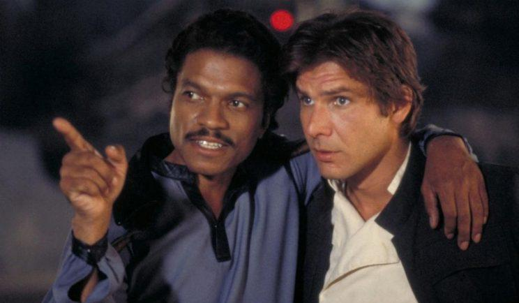 Lando and Han hanging out - Credit: Lucasfilm