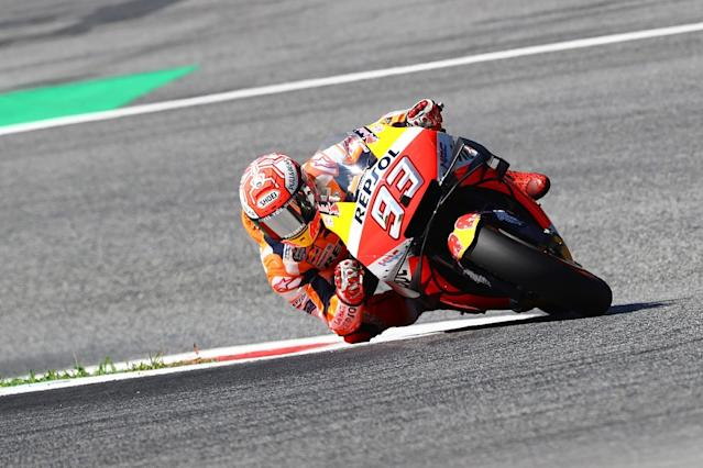 Marquez breaks Doohan's record with Austria pole