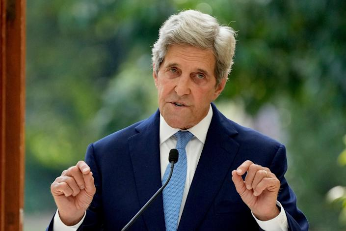 US climate envoy John Kerry. (Copyright 2021 The Associated Press. All rights reserved)
