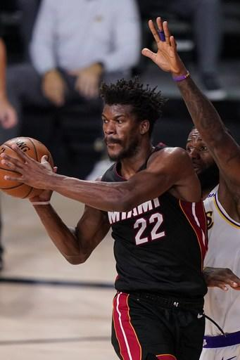Butler's big night helps Heat cut Lakers' Finals lead to 2-1