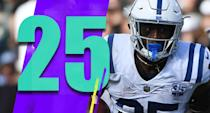 <p>he Colts have to be happy with some of the young talent that has emerged like Marlon Mack. Indy could make huge leaps in the next couple seasons. (Marlon Mack) </p>