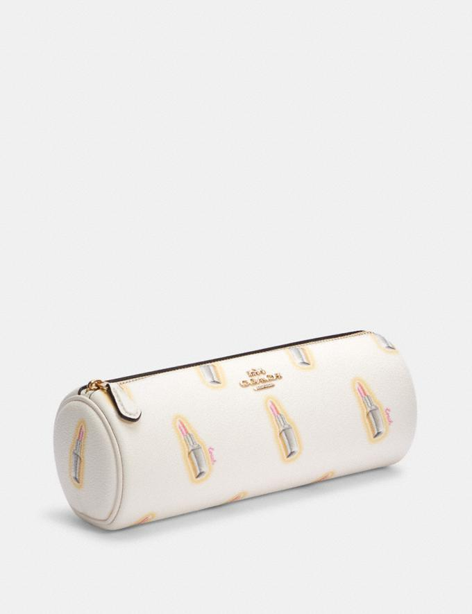Makeup Holder With Lipstick Print - Coach Outlet.