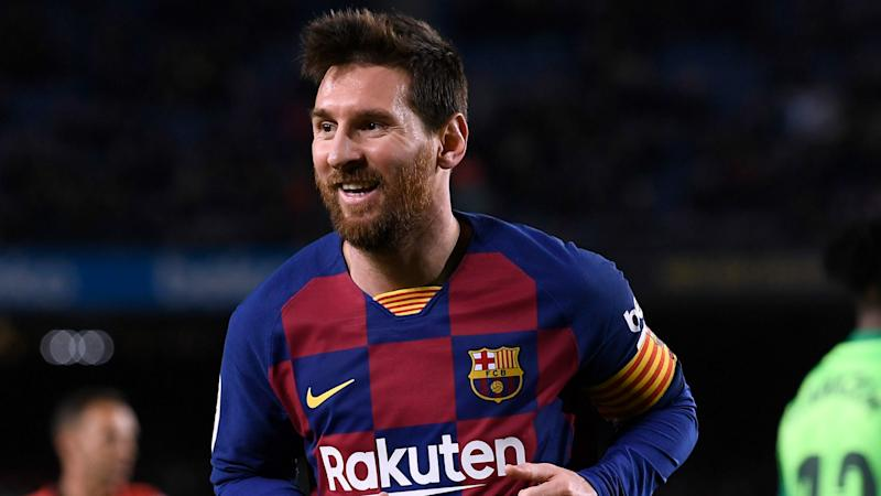 Scaloni not worried by Messi's Barcelona situation