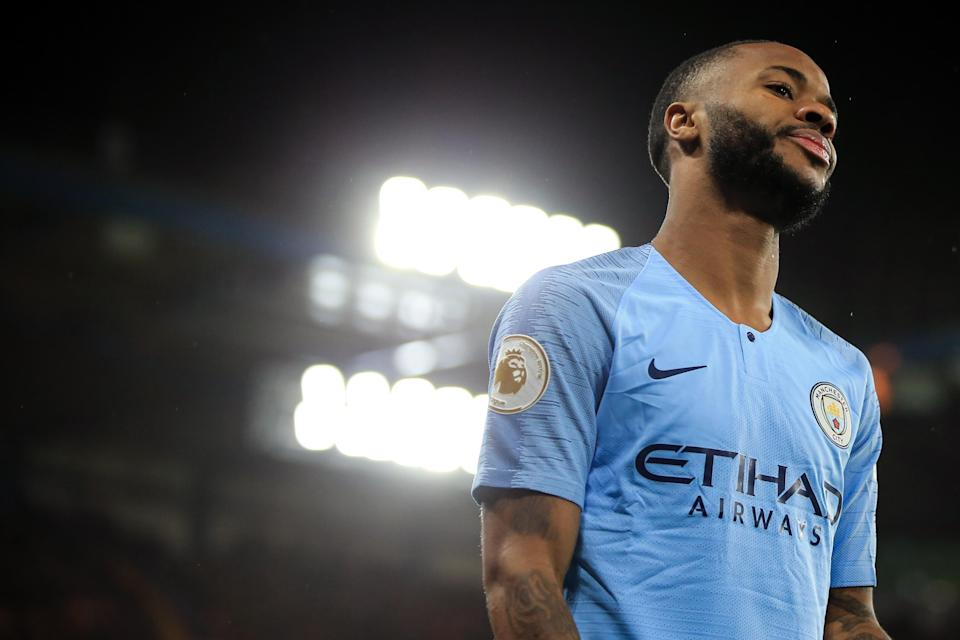 Raheem Sterling spoke out against the media after an alleged racist incident at Saturday's game. (Photo by Marc Atkins/Offside/Getty Images)