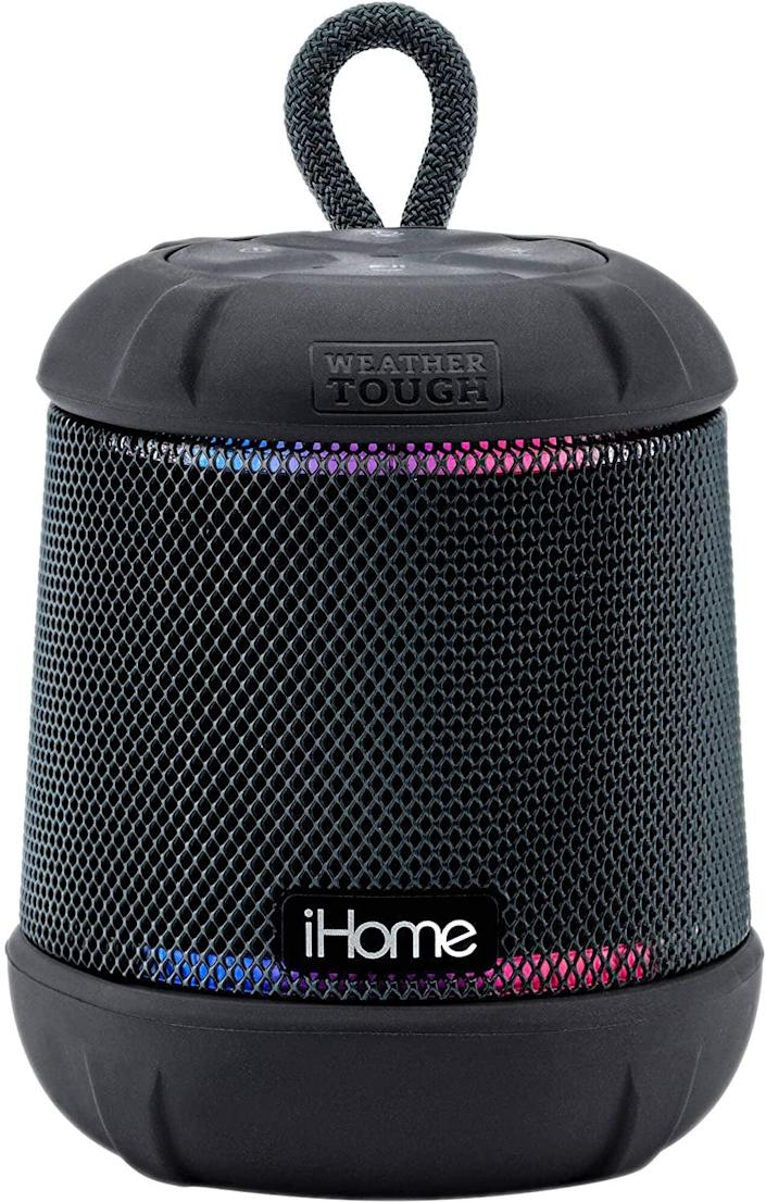 <p>This <span>iHome iBT155 Bluetooth Speaker Weather Tough Color Changing Waterproof Portable Wireless Speaker</span> ($40) is so convenient, they'll use it every day.</p>