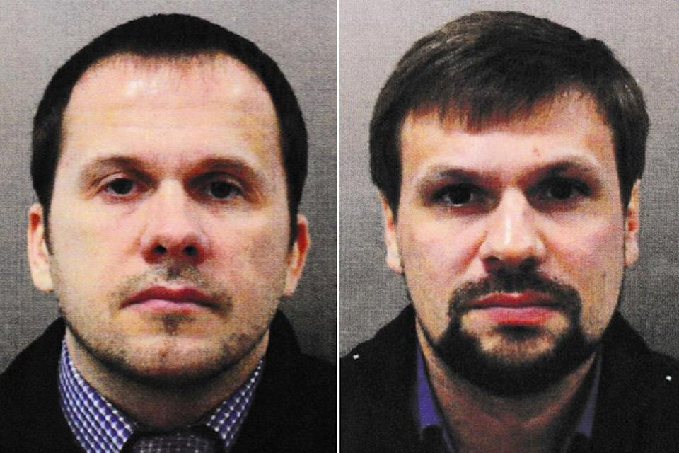 <p>Two men with the same name and likeness on their documentation as the pair implicated in the poisoning of Sergei Skripal are subject to a police investigation in the Czech Republic</p> (Metropolitan Police)