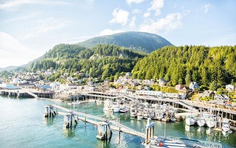 Ketchikan, Jane's first port of call - Credit: istock