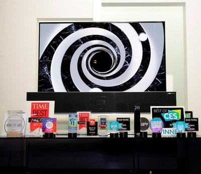 LG Electronics took home the most awards ever from industry experts at CES® – more than 150 honors this year, led by the Best TV of CES Award for the sixth consecutive year.