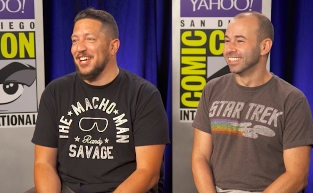 "'Impractical Jokers' stars Sal Vulcano and James ""Murr"" Murray (Photo: Yahoo)"