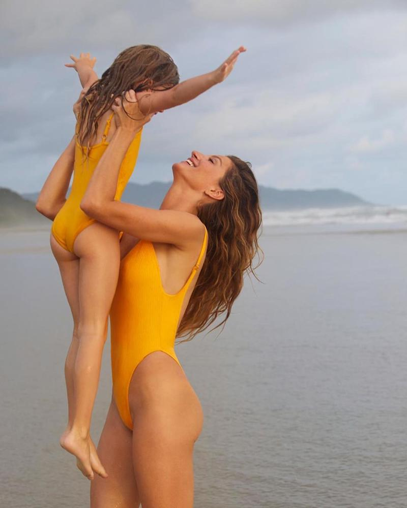 Gisele Bündchen celebrates daughter's birthday in matching swimsuits: 'My sunshine'