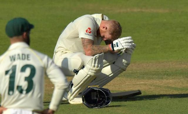 Stokes was exhausted after playing one of the greatest-ever Test innings (AFP Photo/Anthony Devlin)