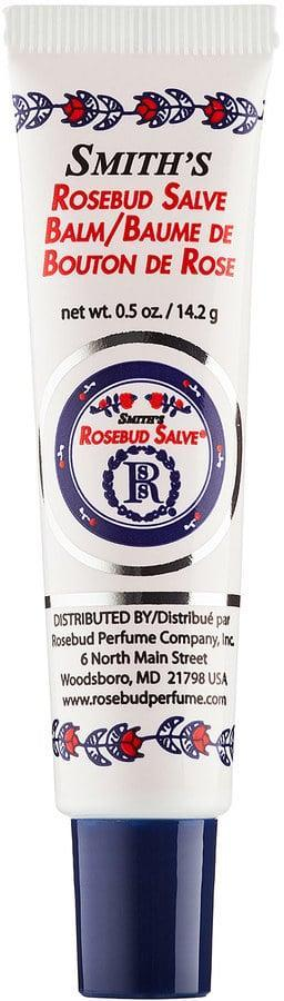 """<p>""""I love <span>Rosebud Salve in a Tube</span> ($7) and keep it in my purse, my car, and my gym bag. Essentially, I want it everywhere I am, and this works because of the packaging. Since the salve is in a tube, it travels well and can handle the heat of my glove compartment without melting like stick balms. The scent is subtle and lovely."""" - Susi May, senior director</p>"""