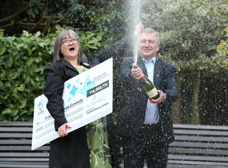 EuroMillions winner saves her sister's home