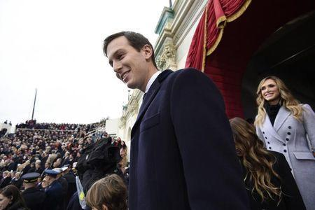 Jared Kushner, senior advisor to President-elect Donald Trump arrives for the Presidential Inauguration of Trump at the U.S. Capitol in Washington, D.C., U.S., January 20, 2017. REUTERS/Saul Loeb/Pool