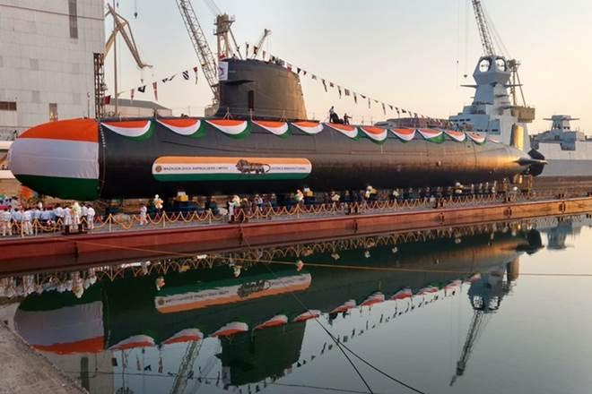Indian Navy, 2nd Scorpene Class submarine, INS Khanderi, submarine, INS Karanj, defence news, Narendra Modi