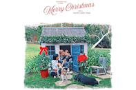 """<p>Merry Christmas from Montecito! Harry, Meghan and Archie wished fans a <a href=""""https://people.com/royals/meghan-markle-prince-harry-archie-christmas-card/"""" rel=""""nofollow noopener"""" target=""""_blank"""" data-ylk=""""slk:happy holiday"""" class=""""link rapid-noclick-resp"""">happy holiday</a> with an illustrated image of the family of three at the toddler's playhouse for their first American Christmas card in 2020.</p> <p>The playhouse was festively decked for the season, and beagle Guy and lab Pula were also pictured front and center. The illustration itself was created from a photo taken by Meghan's mom, <a href=""""http://people.com/tag/doria-ragland"""" rel=""""nofollow noopener"""" target=""""_blank"""" data-ylk=""""slk:Doria Ragland"""" class=""""link rapid-noclick-resp"""">Doria Ragland</a>.</p>"""