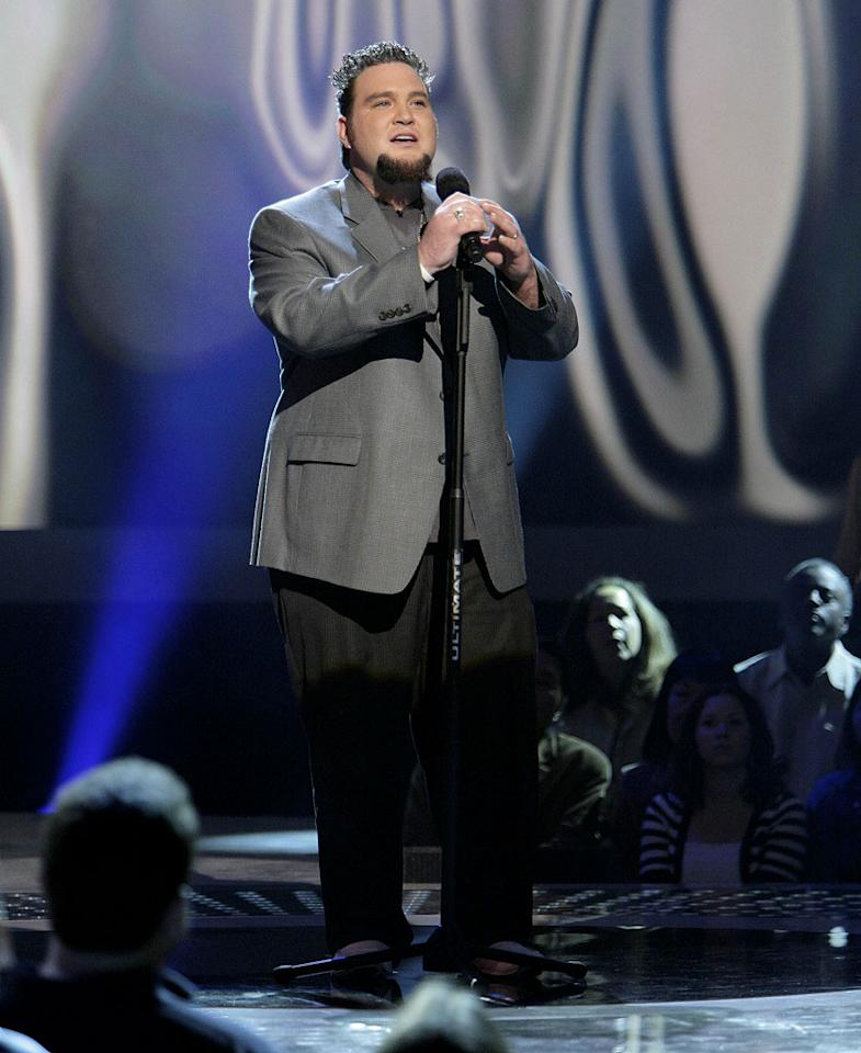 Sundance Head performs in front of the judges on 6th season of American Idol.