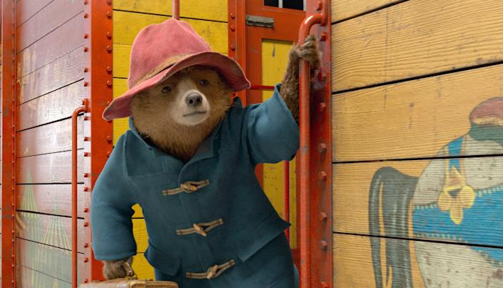 """The beloved Peruvian bear (voiced by Ben Whishaw) goes on a new adventure in London in """"Paddington 2."""""""