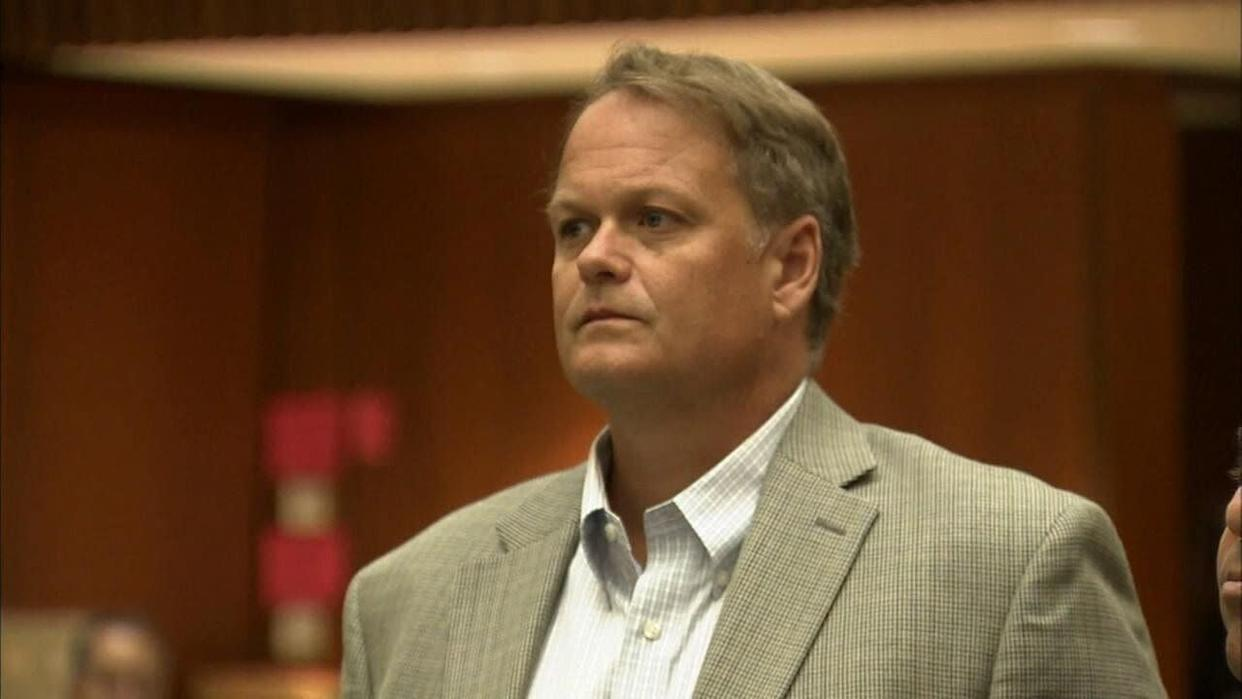 Joseph Koetters, a former teacher at Marlborough School, pleaded guilty to sexually abusing two students. (Photo: KABC – Los Angeles)