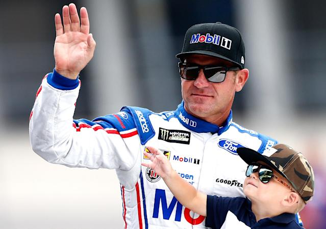 """<a class=""""link rapid-noclick-resp"""" href=""""/nascar/sprint/drivers/1119/"""" data-ylk=""""slk:Clint Bowyer"""">Clint Bowyer</a> is currently the first driver outside the playoffs. (Getty)"""