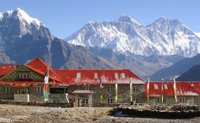 Yeti Mountain Home Kongde in the Himalayas